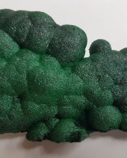Highly attractive Malachite specimen of botryoidal growth and intense color.