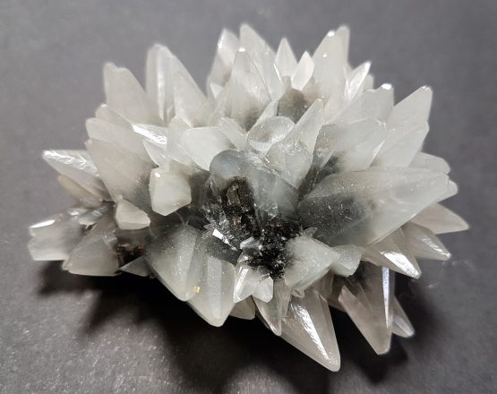 Extraordinary dog's-tooth Calcite crystal aggregate.