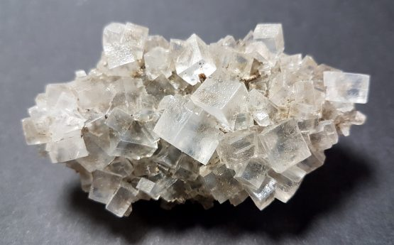 Perfect cubic crystals of Halite (Rock Salt)
