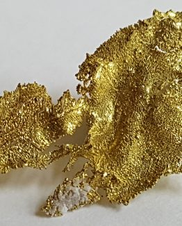 Aggregate of native Gold crystals.