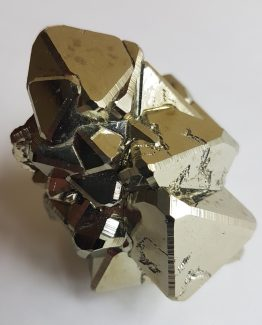 Octahedral crystals of Pyrite