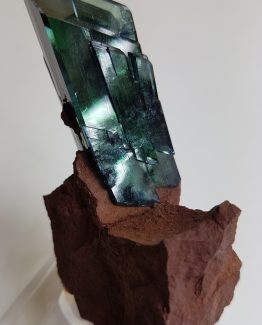 Vivianite crystal on matrix