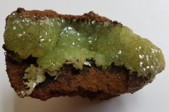 Attractive specimen of Adamite on matrix.
