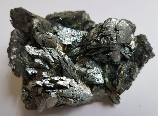 Well-defined and edged parallel aggregates of Marcasite crystals.