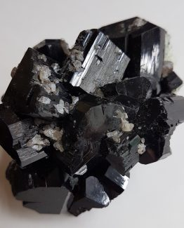 Group of doubly terminated and twinned crystals of Schorl Tourmaline