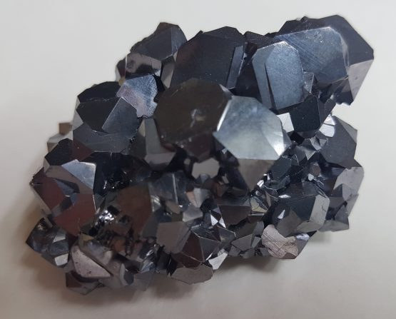 Group of Galena cuboctahedral crystals.
