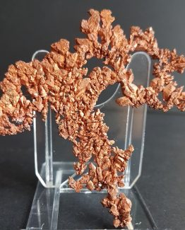 Arborescent growth of Native Copper crystals.