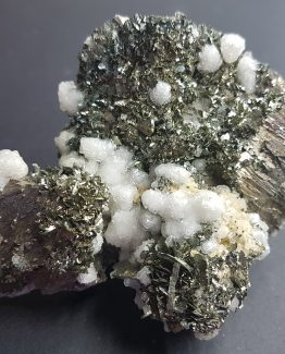 Paragenesis of Arsenopyrite, Marcasite, Dolomite and Pyrite.
