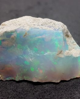 A beautiful sample of Opal from Ethiopia on a rocky matrix